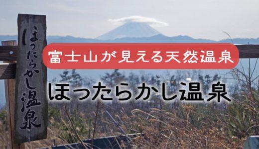 【ほったらかし温泉】美味しいご飯と富士山の絶景が見える温泉