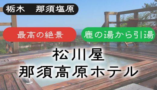 【那須湯本温泉 松川屋】鹿の湯のお湯を最高の絶景と共に楽しめる温泉